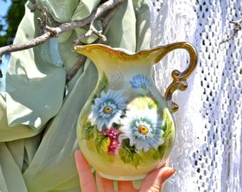 Bathe in Blossoms - Ornate Chamber Bath Pitcher