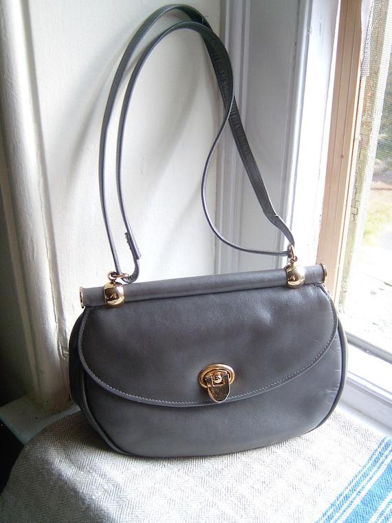 Vintage Ruth Saltz Leather Handbag