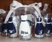 Wedding Tumblers - Bride, Bridesmaid, mother of the bride, mother of the groom