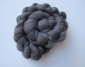 Reserved for Tone - A gorgeous dark grey merino roving to felt.