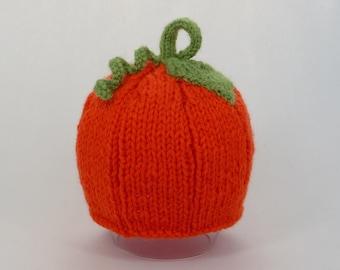 PATTERN Pumpkin Baby Beanie Hat PATTERN