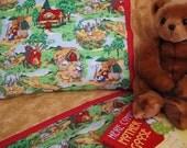 Toddler bedding fairytale print crib sheet set 3 pc toddler girl sheets girl nursery infant bedding
