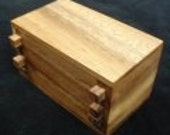 Secret Lock Box Wood Puzzle Box - Secret Stash Box - Puzzle Box - Wood Puzzle Box