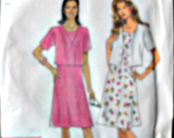 Simplicity 8578 It's So Easy Dress and Jacket Pattern, Sizes 6 through 16