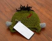 Frankenstein Beanie-Halloween Hat