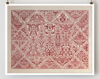 Cirque des Triangles : Ink Circles counted cross stitch patterns Circus of the Triangle monochromatic geometric embroidery