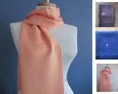 Pashmina, Coral Pashmina Scarf, Shawl, Wrap, bridal shawl, bridesmaids shawl, bridal gift