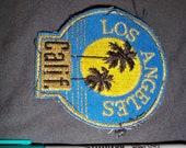 1980s Los Angeles Souvenir Patch