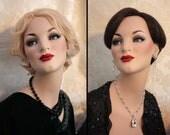 DashNdazzle Restored Glass Eyes Stunning Rare Mannequin
