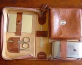 Vintage Mens Grooming Kit 1930s 1940s Mid Century