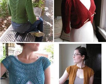 Cardi Pattern Collection from The Knit Knot