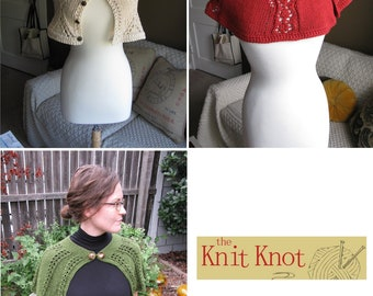 Cape Pattern Collection--from The Knit Knot