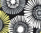 Michael Miller - Straw Daisy in Citron - By The Yard