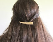 Hair Barrette Clip Deer -ALBA- Antler Horn Natural Hair Accessories