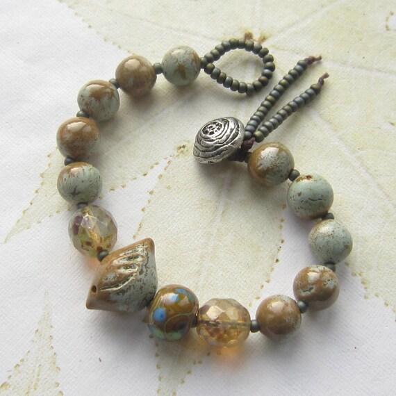 Ceramic Bead Beads: Ceramic Bead Bracelet Bird Bead Bracelet Ceramic By
