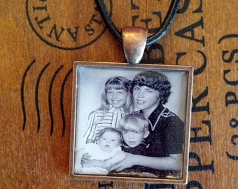 Photo Necklace Memory Necklace
