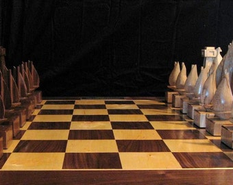 Sailboat Chess Set The Captain's Edition handmade chess  sets on etsy by JimArnoldsChessSets