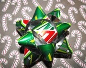 Mountain Dew Soda Can Gift Bow