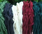 Large Christmas Mix - 250 Primitive Handcut Wool Strips
