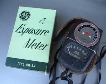 Vintage GE Exposure Meter with original box