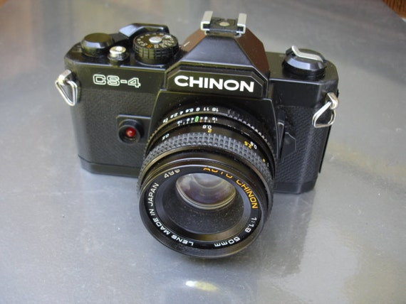 Awesome Vintage Chinon 35mm camera- We have lots of vintage cameras
