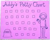 Personalized Potty Chart