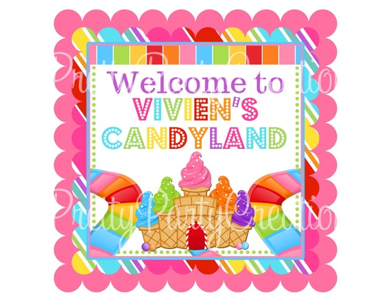 Candyland Party Invitations was adorable invitations design