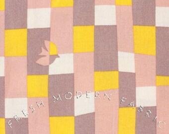 Fat Quarter Cotorienne Yurari in Pink and Saffron, Anyan for Yuwa Fabric, 100% Cotton Fabric