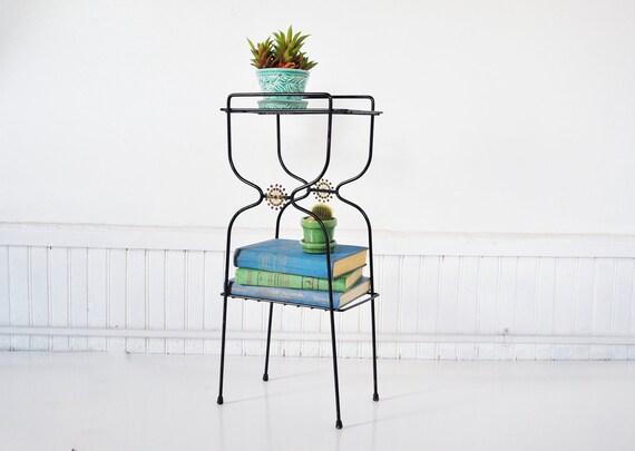 Mid-Century Plant Stand / Magazine Rack