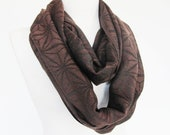 Brown Pashmina  Scarf, Long Scarf, Cowl, Headband, Unisex Scarf,  Gift