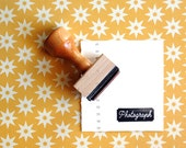 Photograph - Rubber Stamp