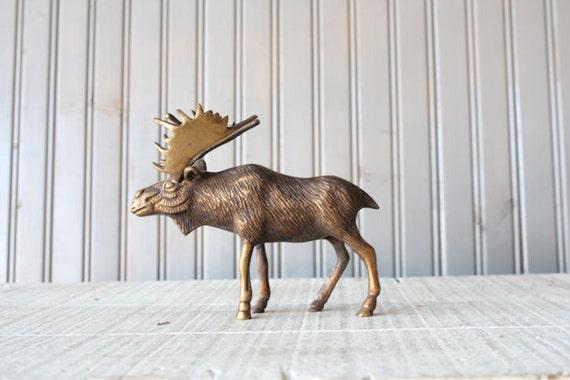 Bronze Moose // Solid Bronze