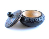 Wonderful little Trinket Treasure ring wood Box Made in Poland