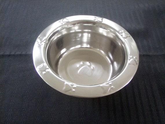 Stainless Steel Bowl 1 Quart Dog Station