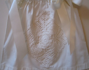 Ivory Pillowcase Dress 18 to 24 months
