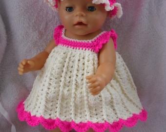 Crochet pattern for 17 inch baby doll