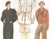 Vogue Sewing Pattern 9076 Misses Sizes 18,20,22 Coat and Jacket