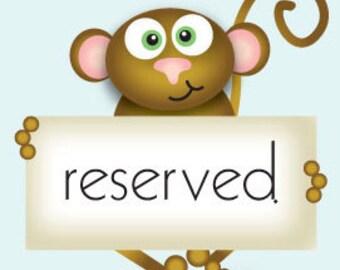 Reserved for Nikki