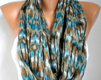 Infinity Scarf  Mother's Day Gift Chiffon Circle Loop Scarf  Gift Ideas For Her Women's Fashion Accessories