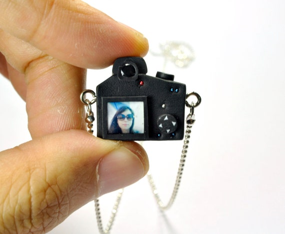 Personalized necklace Canon 600D Camera miniature / Personalized gift / Personalized necklace