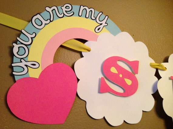You Are My Sunshine Party Banner - LAST ONE Ready to Ship