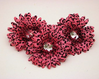 "Pink Cheetah 4"" Gerber Daisy (set of 3)was 2.70"