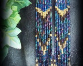 Western Style Beaded Earring / Montana Collection
