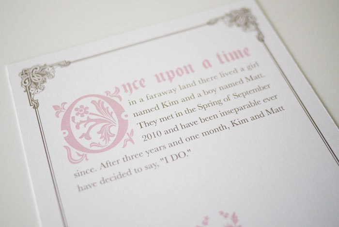 Fairytale Invitation Wording as amazing invitation layout
