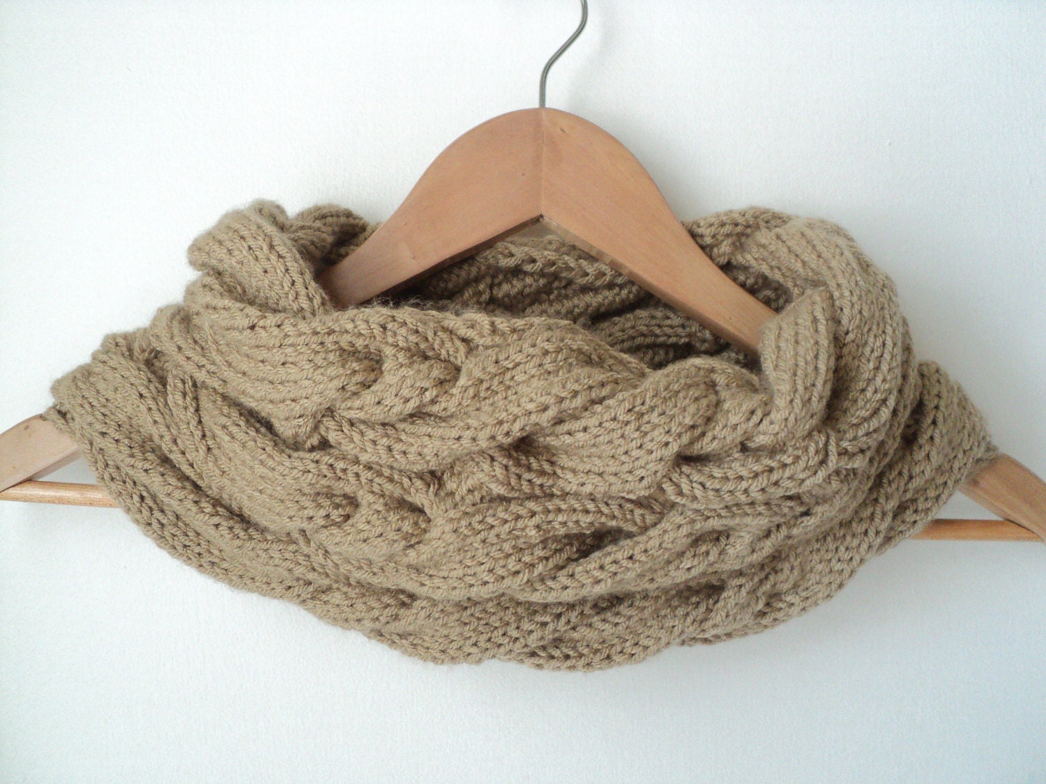 Cabled Cowl Knitting Pattern : 2 KNIT PATTERNS Triple Cable Cowl and by Lifeinsmallspaces