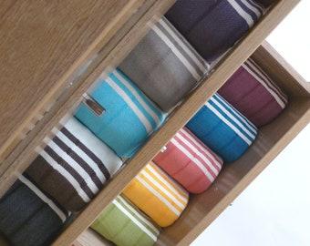 Natural Turkish Towel, Peshtemal, Beach towel, Bath towel, hammam, SPA, Fouta, Handwoven Natural Soft Cotton, , Aqua Bluemother's day