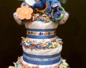 Little Elephant Diaper Cake