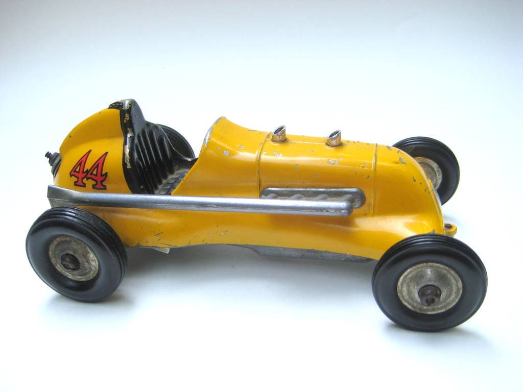 Vintage thimble drome tether race car roy cox special gas for Roy motors used cars