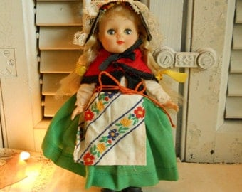 European Doll Movable Eyes, Removable Clothes Antique Toys Antique Vintage Doll Collectible Doll
