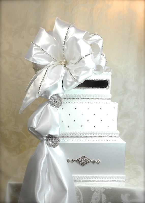 Buy Wedding Gift Box : Wedding Card Box Ribboned Wedding Card Wedding Card Box Gift Card Box ...